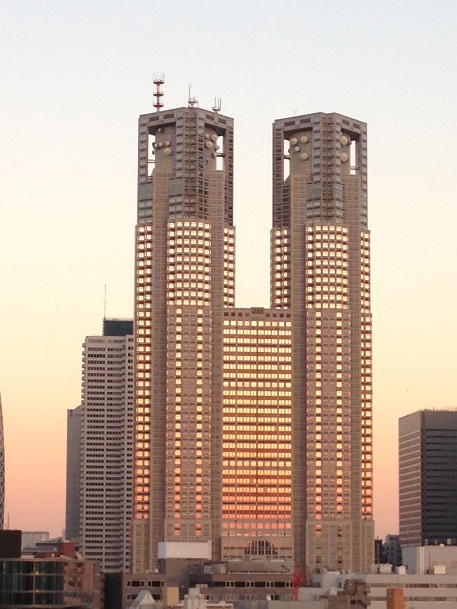 Tokyo Metropolitan Government Office Building.