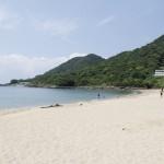 White beach in Kagoshima!