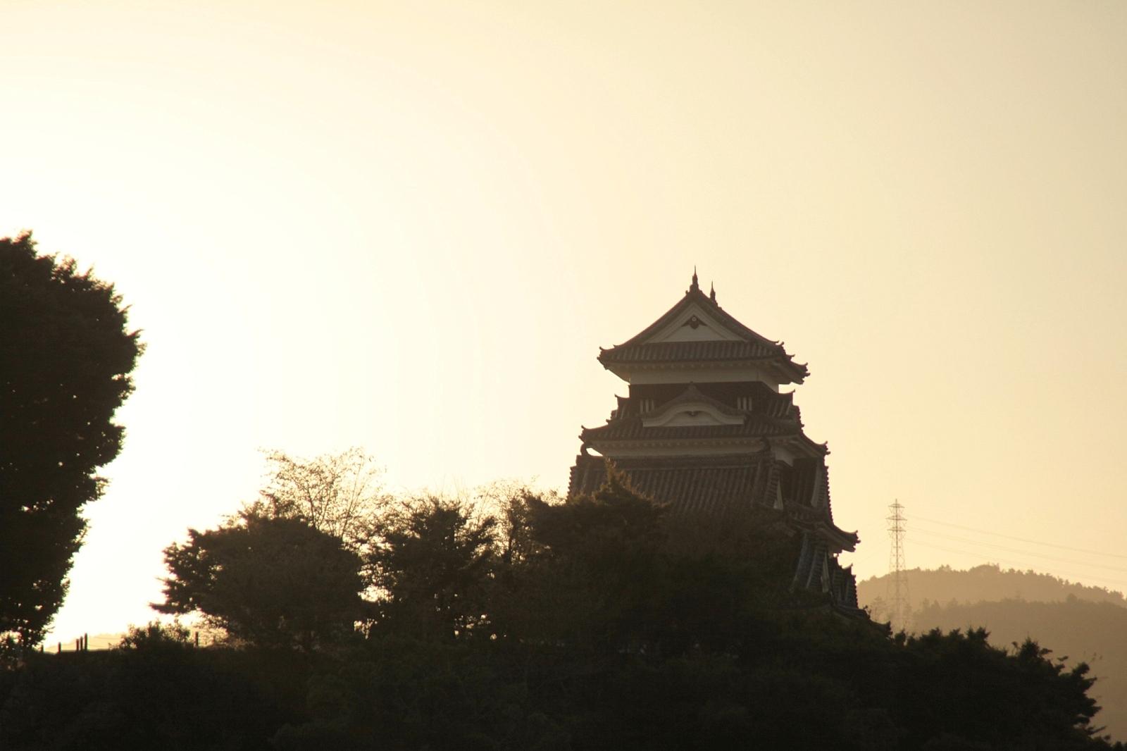 Ehime-Oozu castle