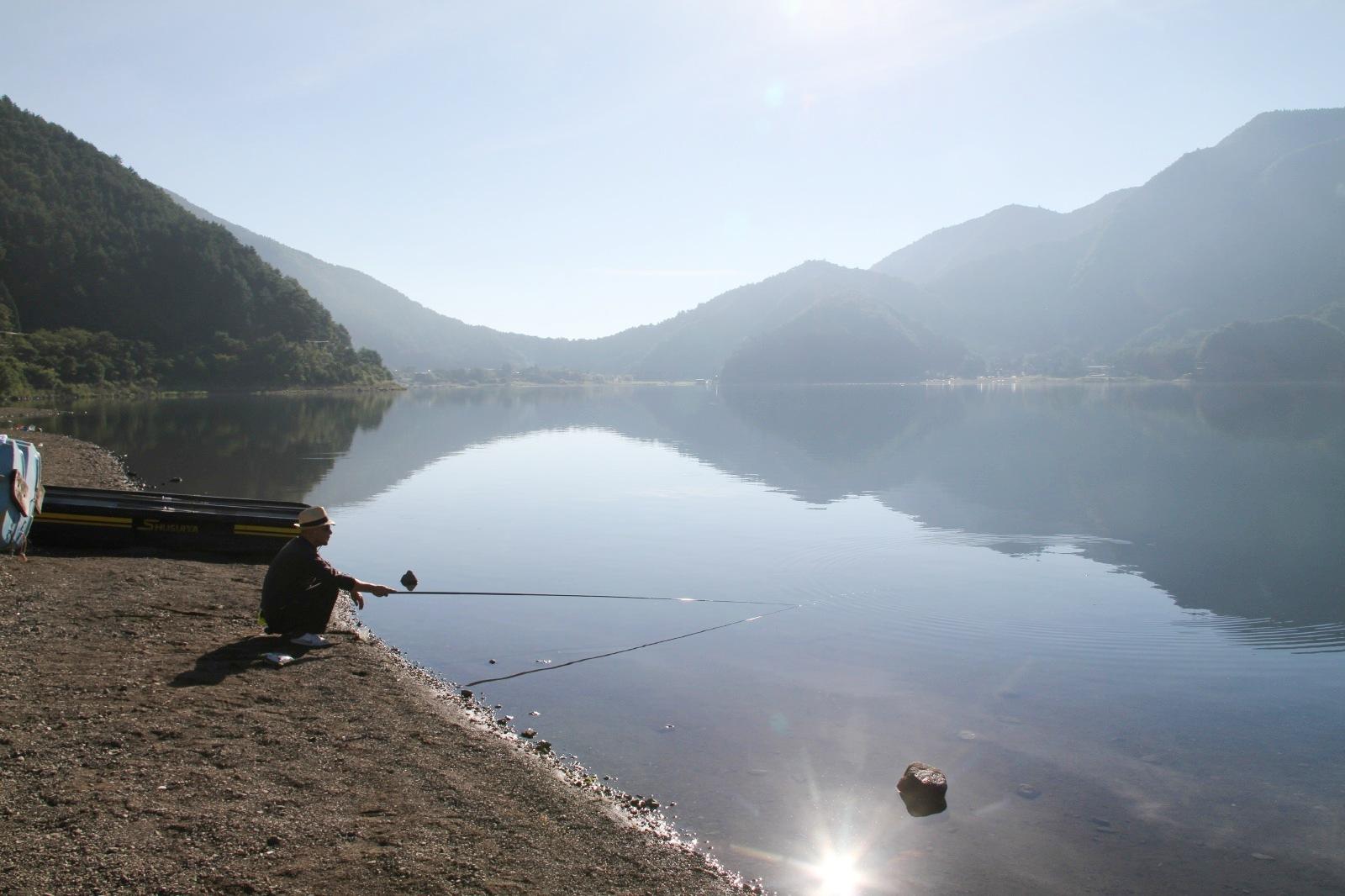 Beside a Lake…
