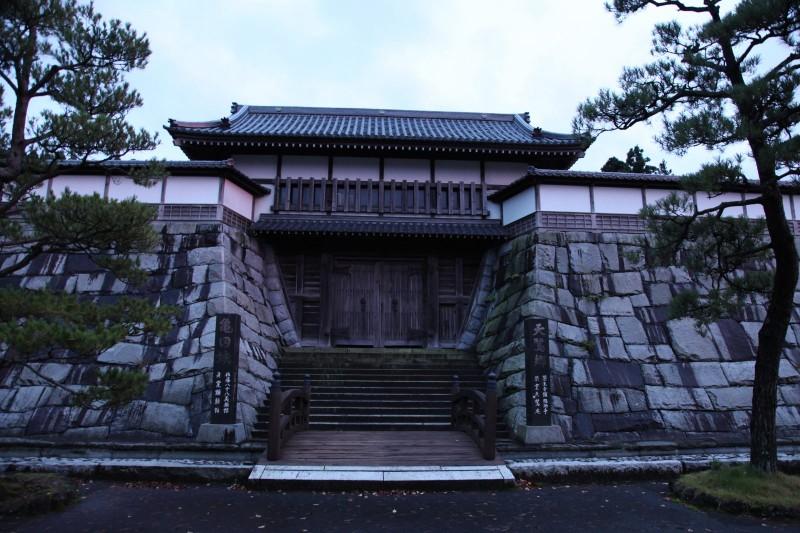 Kameda castle in Akita