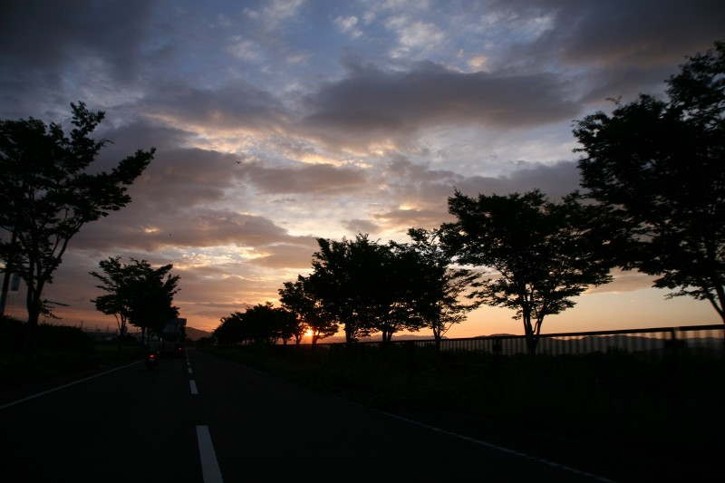 Sunrise at Fukushima