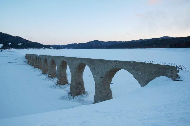 Tausyubetsu river bridge