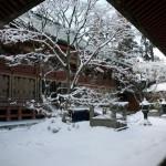 Enryakuji in winter