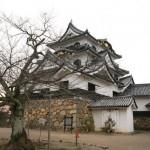 Hikone castle in winter