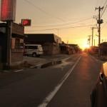 Sunset at Ishinomaki, Miyagi