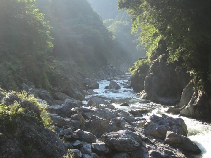 Hatonosu gorge