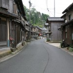 Old houses along the street in Ine, Kyoto
