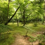 Ginkakuji gardens