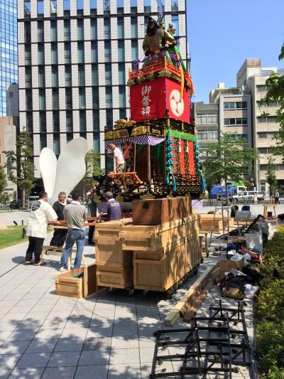 Preparing for Festival