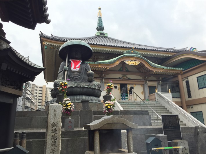Stone statue Jizo