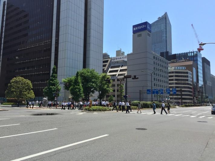 kasumigaseki lunch time