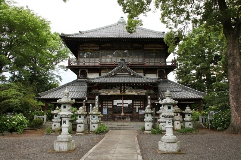 Ota-shi Japan  city pictures gallery : Sazaedo, Sogenji | JAPAN WEB MAGAZINE