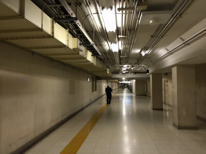 underground at Kasimigaseki