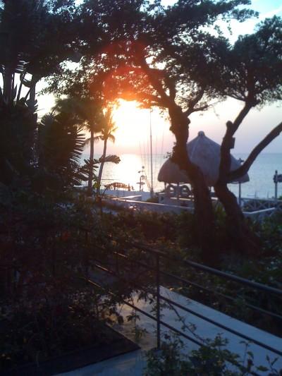 sunset at Okinawa