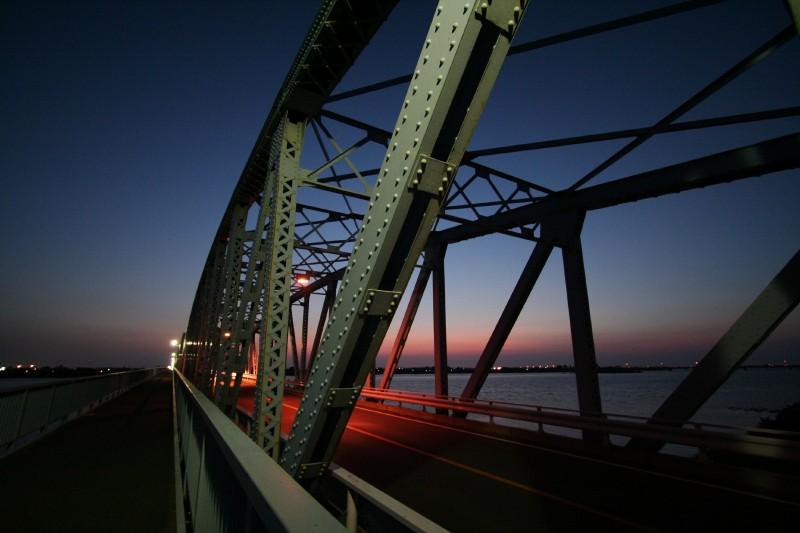 Taihei bridge, Niigata