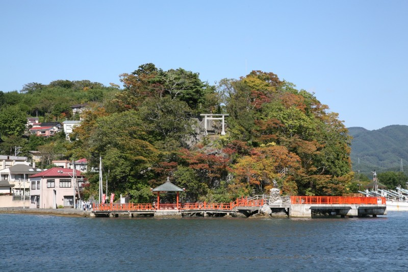 Isuzu jinja in Kesennuma, 2008