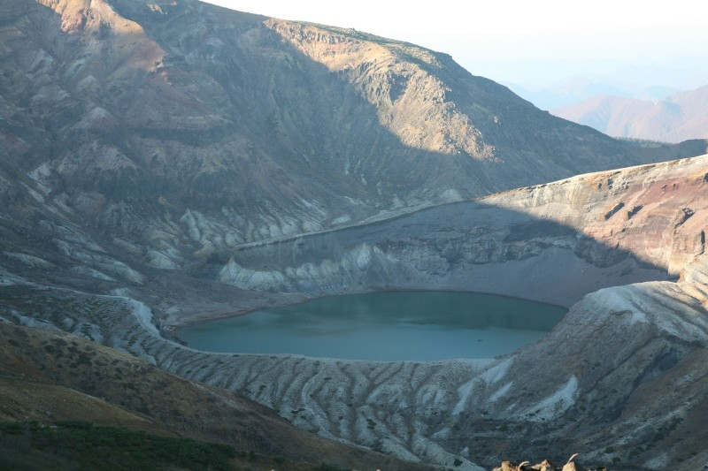 Okama (a crater lake), Mount Zao
