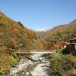 Okuhida-onsengo in autumn
