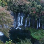 Shiraito falls in Autumn