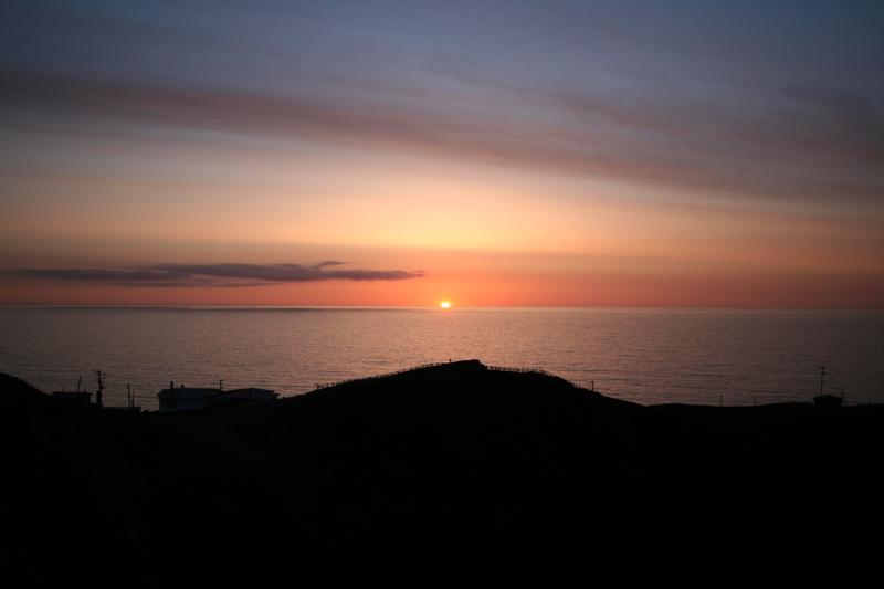 Cape Erimo in Hokkaido