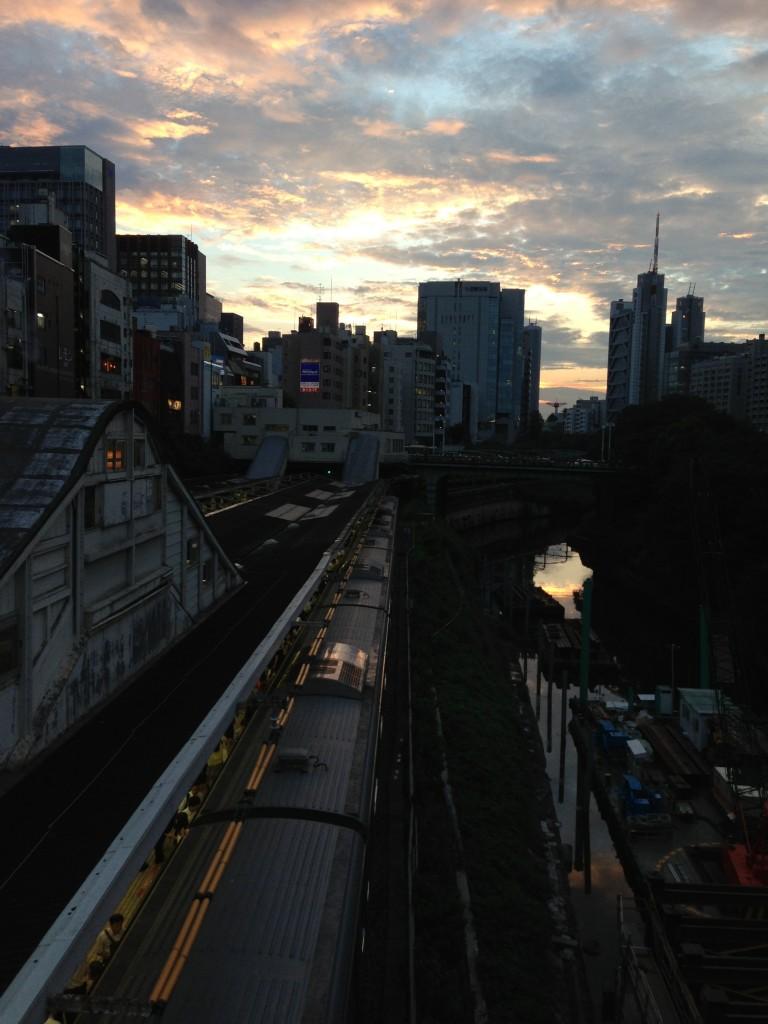 Sunset Ochanomizu