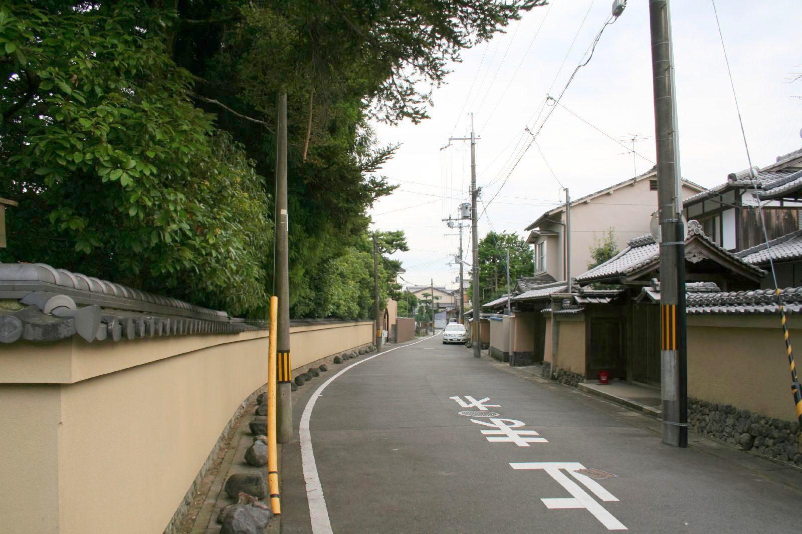 Syake no Machinami, Near Kamigamo jinja, Kyoto