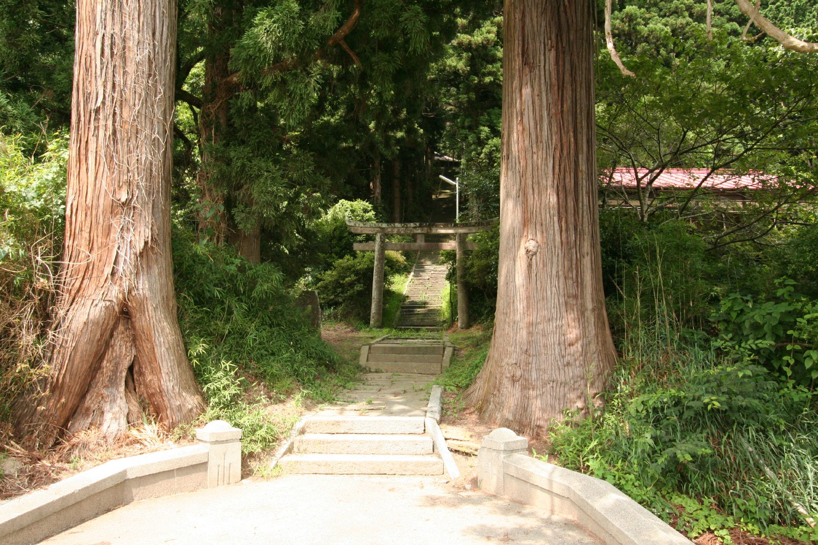 Daimon jinjya shrine