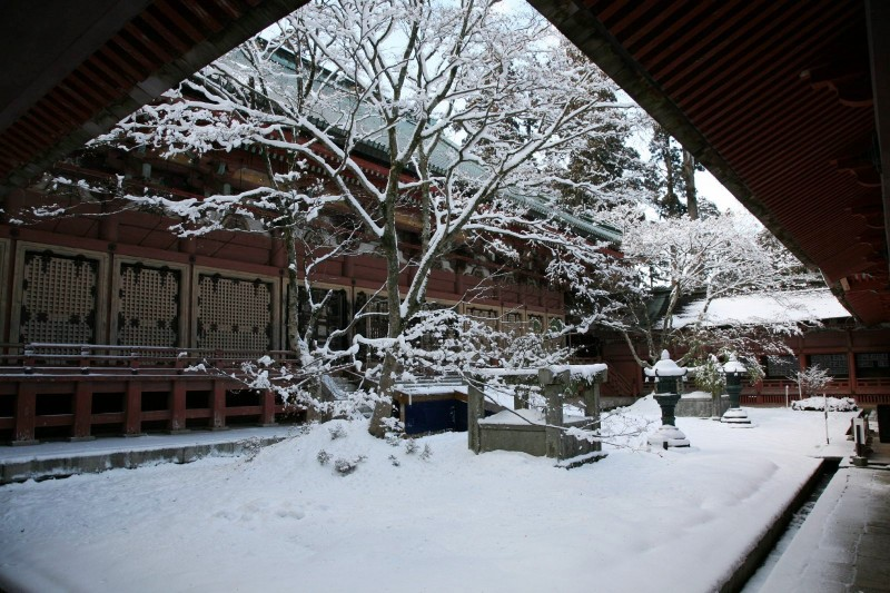 Enryakuji in winter