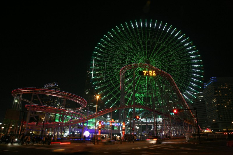 A night at Yokohama