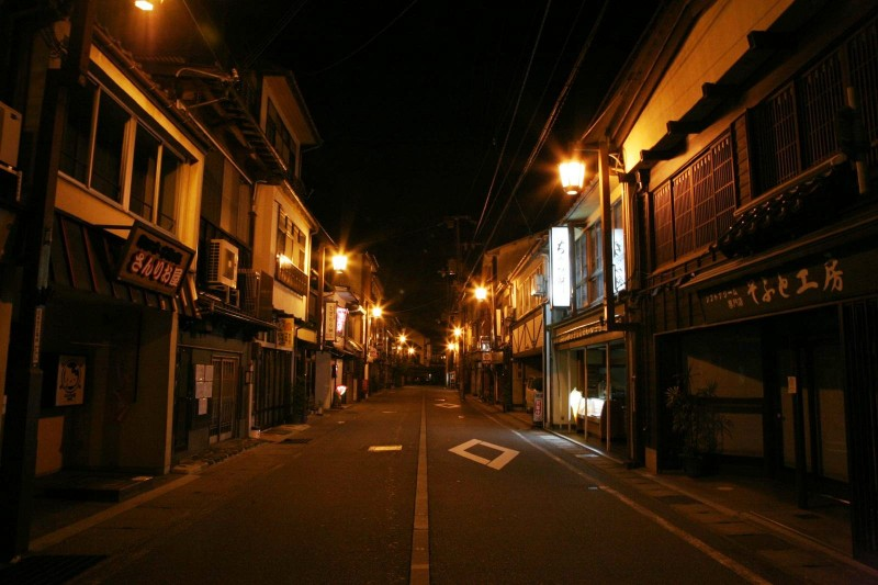 A night at Kinosaki onsen