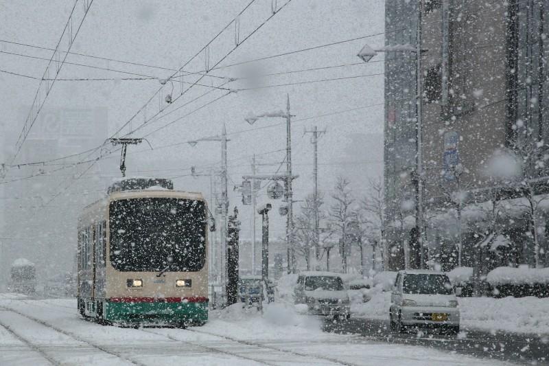 Toyama City Tram Line