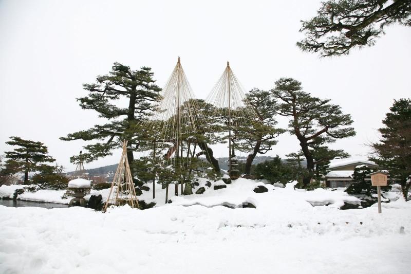 Kenrokuen gardens, Kanazawa
