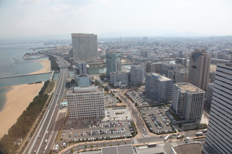View from Fukuoka Tower