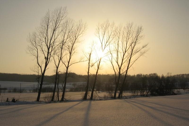 Sunset at Takikawa, Hokkaido
