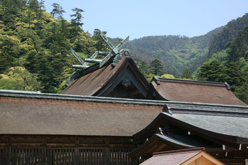 Shrine pavilions of Izumo Taisha
