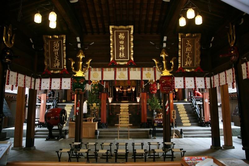 Kushida shrine, Hakata, Fukuoka