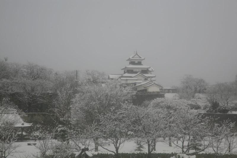 Shirakawa Komine Castle, Fukushima