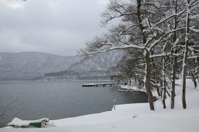 Towadako in winter