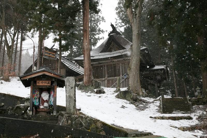 Yuzawa Jinja, Nozawa onsen, Nagano