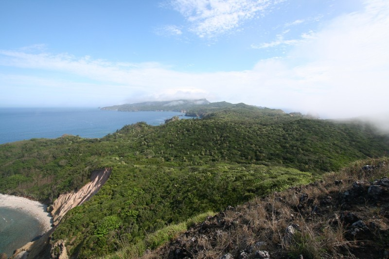 A view from Kofuji, Hahajima, Ogasawara.