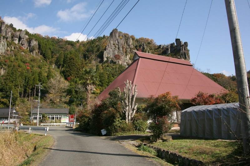 Ura-yabakei, Oita