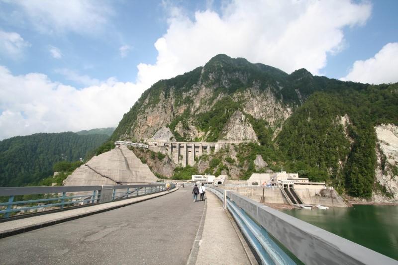 Kurobe Dam, Tateyama-cho, Toyama