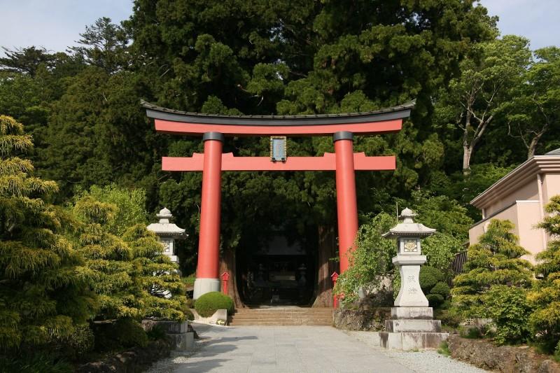 Kawaguchi Asama Jinja, Yamanashi
