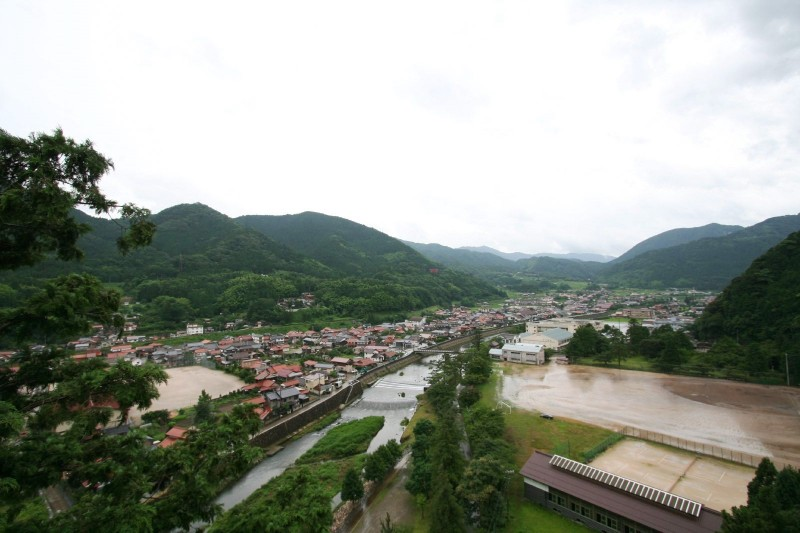 A view from Tsuwano Taikodani Inari jinja, Shimane