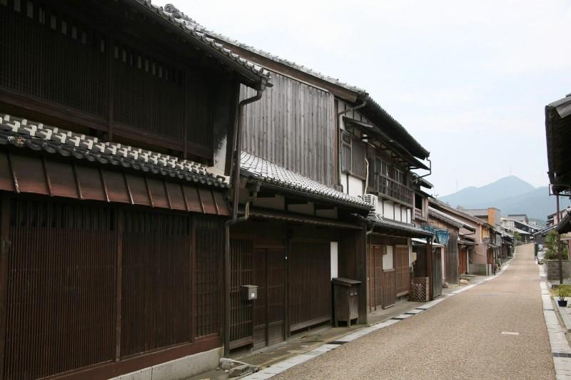 "Old town in Japan, ""Sekijuku, Mie"""