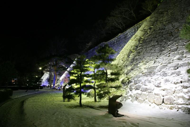 Morioka castle, Iwate