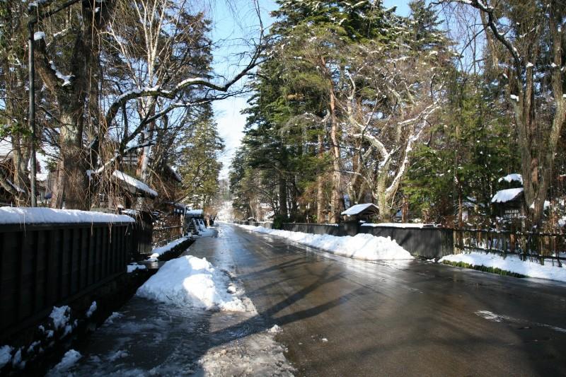 Kakunodate Bukeyashiki in winter