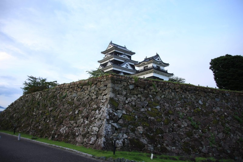 Ozu castle, Ehime