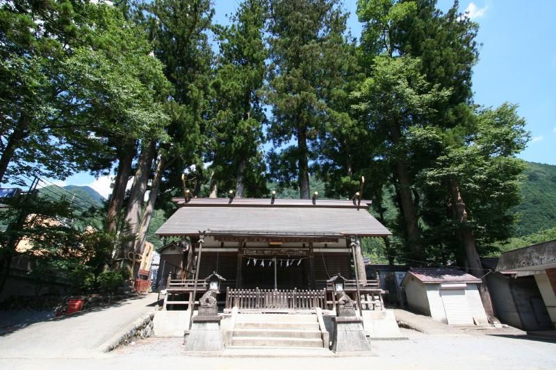 Okuhikawa Jinja, Okutama, Tokyo
